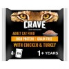 CRAVE Cat Pouch with Chicken & Turkey in Loaf 4x85g
