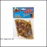 2PC 100G MUNCHY LARGE PIZZA  SLICES IN PVC BAG &HEADER CARD
