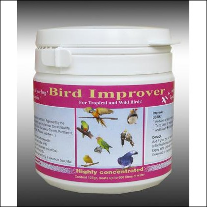 Bird Improver™  125g tub Tropical & Wild Bird