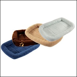 LB-D24L MEDIUM FLEECE PET BED