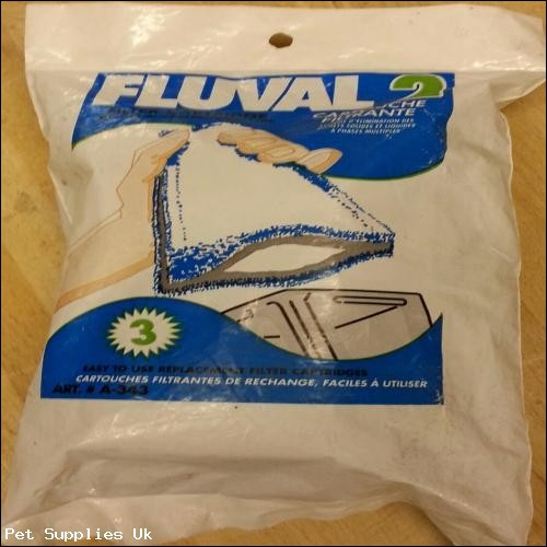 Fluval 2 Fliter Cartridge Multi-Phase & Liqufied Waste Removal System