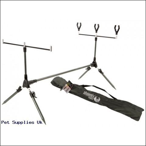 FULLY ADJUSTABLE ROD POD  W/ACCESSORIES IN CARRY BAG