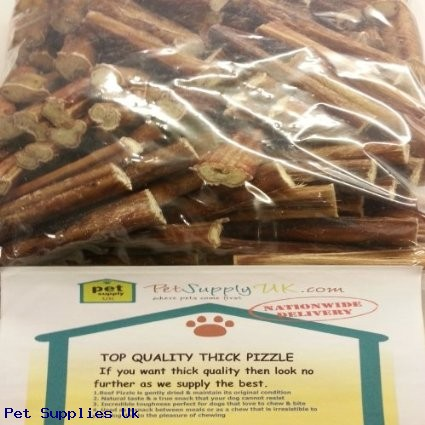 50 x thick bulls pizzles pizzle bully sticks dog treat chew item id 19293 end time 06 mar. Black Bedroom Furniture Sets. Home Design Ideas